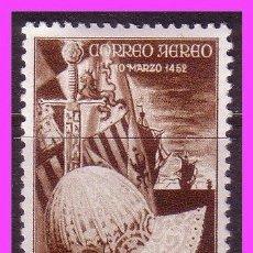 Sellos: SÁHARA 1952 V CENT. FERNANDO EL CATÓLICO, EDIFIL Nº 97 * * . Lote 36737949