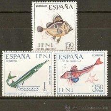 Sellos: ESPAÑA IFNI EDIFIL NUM. 230/2 * SERIE COMPLETA CON FIJASELLOS. Lote 37661462