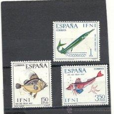 Sellos: IFNI 1967, EDIFIL Nº 230/232*, DIA DEL SELLO. FIJASELLOS. Lote 37853415