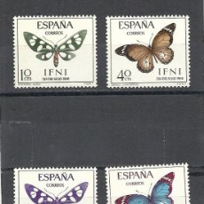 Sellos: IFNI 1966, EDIFIL Nº 221/224**, DIA DEL SELLO. Lote 37853429