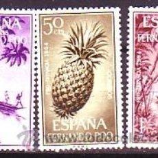 Timbres: FERNANDO POO 223 / 225 - PRO INFANCIA. PIRAGUA. NUEVA SIN FIJASELLOS.. Lote 57074120