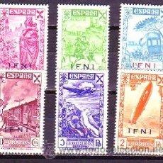 Sellos: IFNI BENEFICENCIA 7/12. NUEVA. CAT. 83,00.-. Lote 38504262