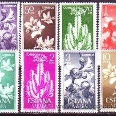 Sellos: SAHARA 201/08 SERIE BASICA. FLORA. NUEVA. Lote 213586893