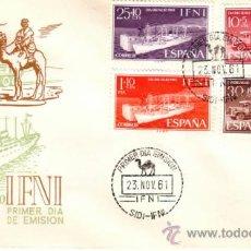 Sellos: ESPAÑA SPD LOTE 258 Nº 183/86 DIA DEL SELLO 1961 . Lote 38920633