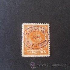 Selos: RIO DE ORO,1908,EDIFIL 40HI*,ALFONSO XIII,HABILITACION INVERTIDA,NUEVO CON GOMA Y SEÑAL FIJASELLOS. Lote 38990215