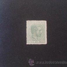 Sellos: FERNANDO POO,1882-1889,EDIFIL 5*,ALFONSO XII,MARQUILLADO,NUEVO CON GOMA Y SEÑAL FIJASELLOS. Lote 39124157