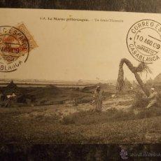 Sellos: POSTAL MARRUECOS, CORREO ESPAÑOL CASABLANCA 1909, SELLO ALFONSO XIII TIPO CADETE 2 CTS. Lote 40018349