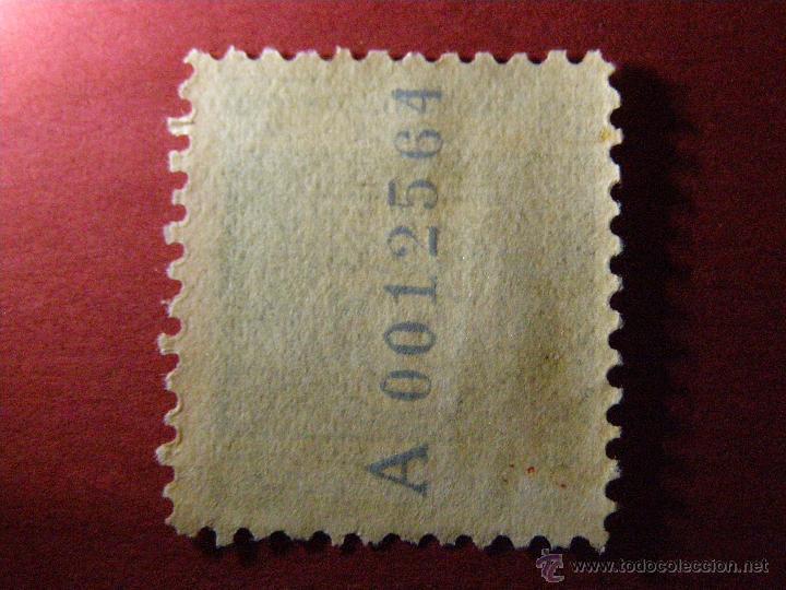 Sellos: Pro mutilados de Africa - 10 céntimos - Marruecos Español - Numerado en reverso- Usado - - Foto 2 - 40998044