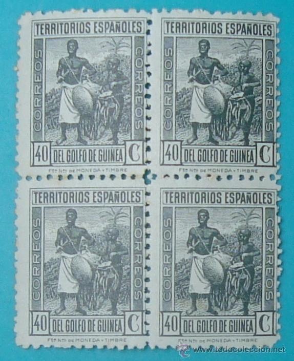 Sellos: BLOQUE DE SELLOS DE TERRITORIOS ESPAÑOLES DEL GOLFO DE GUINEA, NUEVOS SIN FIJASELLOS - Foto 2 - 41238740