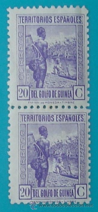 Sellos: BLOQUE DE SELLOS DE TERRITORIOS ESPAÑOLES DEL GOLFO DE GUINEA, NUEVOS SIN FIJASELLOS - Foto 3 - 41238740