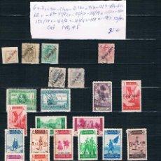 Sellos: CABO JUBY. CONJUNTO DE 54 SELLOS EN DOS FICHAS CON VALOR DE CATALOGO DE 140.95. Lote 41584571