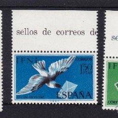 Sellos: IFNI . EDIFIL 236/38 ** AÑO 1968 NUEVOS SIN SEÑAL DE FIJASELLOS . DIA DEL SELLO , CORREO . Lote 41970417
