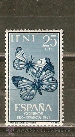 IFNI EDIFIL NUM. 195 ** NUEVO SIN FIJASELLOS (Sellos - España - Colonias Españolas y Dependencias - África - Ifni)