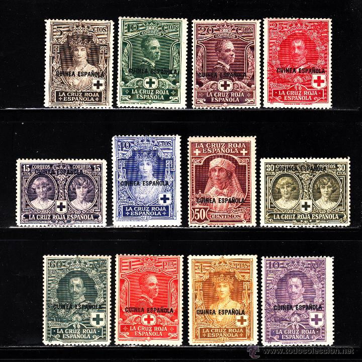 GUINEA 179/90* - AÑO 1926 - PRO CRUZ ROJA ESPAÑOLA (Sellos - España - Colonias Españolas y Dependencias - África - Guinea)