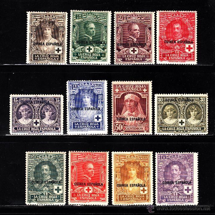 GUINEA 179/90** - AÑO 1926 - PRO CRUZ ROJA ESPAÑOLA (Sellos - España - Colonias Españolas y Dependencias - África - Guinea)
