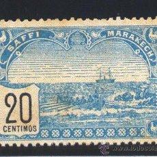 Sellos: MARRUECOS. SAFFI MARAKECH.- YVERT 100 (*). Lote 42627452