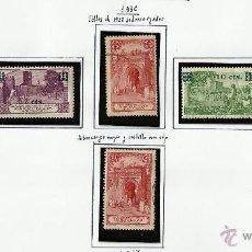 Sellos: MARRUECOS 1936 OCUPACION ESPAÑOLA EDIFIL 162-66 NUEVOS* Y USADOS VALOR 2014 CATALOGO 26.-- EUROS. Lote 42634825