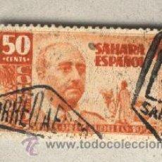 Sellos: SAHARA ESPAÑOL 50 CENTS. VISITA DEL CAUDILLO FRANCO 1951. Lote 43809861