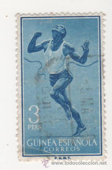 SELLO DE CORREOS GUINEA ESPAÑOLA AÑO 1958 (Sellos - España - Colonias Españolas y Dependencias - África - África Occidental)
