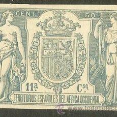 Sellos: FISCALES - PÓLIZA 1905 ÁFRICA OCCIDENTAL. Lote 54637813