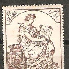 Sellos: LOTE D-SELLOS SELLO POLIZA NUEVA AÑO 1931-1936. Lote 95410312