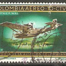 Sellos: LOTE D-SELLOS SELLO COLOMBIA CORREO AEREO. Lote 107788760