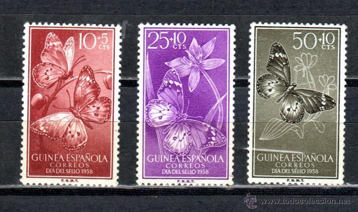 GUINEA ED.Nº 388/90** (Sellos - España - Colonias Españolas y Dependencias - África - Guinea)