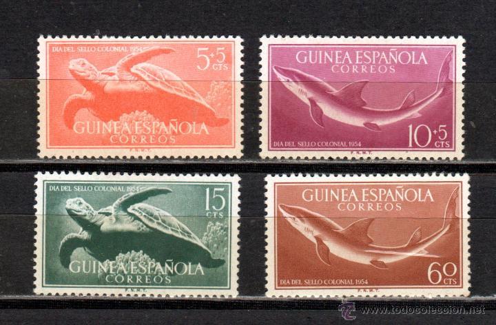 GUINEA ED.Nº 338/41* (Sellos - España - Colonias Españolas y Dependencias - África - Guinea)