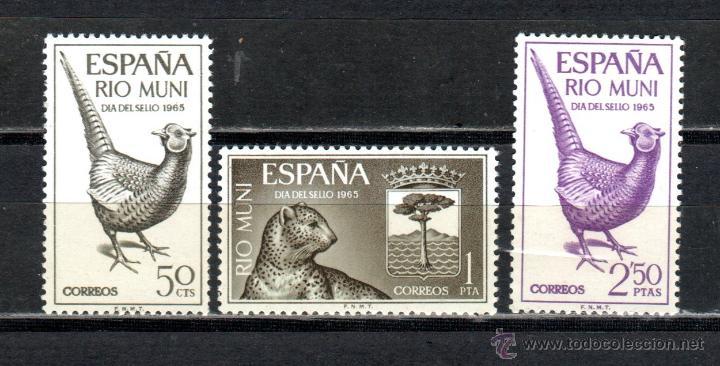 SERIE DE RIO MUNI ED Nº 66/68** (Sellos - España - Colonias Españolas y Dependencias - África - Río Muni)