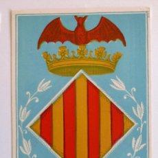 Sellos: TARJETA MAXIMA SIDI IFNI 1958. ESCUDO DE VALENCIA.. Lote 46256330