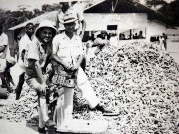 Sellos: CARTA Y SOBRE CIRCULADO, 1949, CON FOTOGRAFIAS GUINEA ESPAÑOLA, BATA A VALENCIA, CERTIFICADO - Foto 7 - 47134841