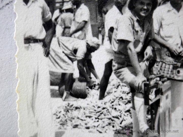 Sellos: CARTA Y SOBRE CIRCULADO, 1949, CON FOTOGRAFIAS GUINEA ESPAÑOLA, BATA A VALENCIA, CERTIFICADO - Foto 8 - 47134841