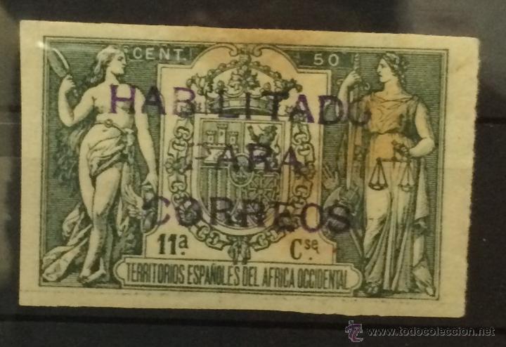 RIO DE ORO 40 DHPE. RARO (Sellos - España - Colonias Españolas y Dependencias - África - Río de Oro)