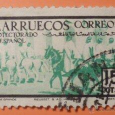 Sellos: MARRUECOS PROTECTORADO ESPAÑOL 1952. PASCUA GRANDE .15 CTS. Lote 47579775