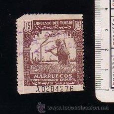 Sellos: MARRUECOS.PROTECTORADO ESPAÑOL.IMPUESTO DEL TIMBRE.USADO.. Lote 47970319