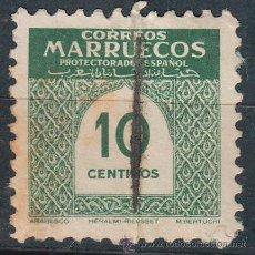 Sellos: MARRUECOS, ARABESCO DE 10 CENTIMOS, USADO. Lote 48195458