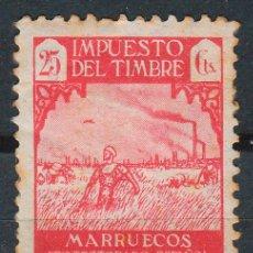Sellos: MARRUECOS, IMPUESTO DEL TIMBRE AÑO 1946. Lote 48195577