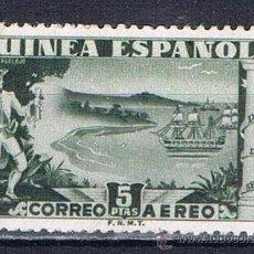 Sellos: GUINEA ESPAÑOLA 1949 (276) DIA DEL SELLO (NUEVO). Lote 48643292