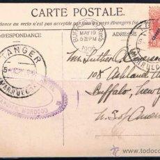 Sellos: 1906 TANGER A N.YORK (USA). Lote 48719012