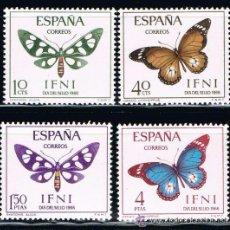 Sellos: IFNI 1966 (221-224) DIA DEL SELLO (NUEVO). Lote 49009215