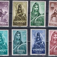 Sellos: SAHARA 1964 (228-235) MUSICOS INDIGENAS (NUEVO). Lote 49090157
