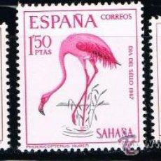 Sellos: SAHARA 1967 (262-264) DIA DEL SELLO (NUEVO). Lote 49105553