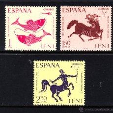 Sellos: IFNI 233/35** - AÑO 1968 - PRO INFANCIA - SIGNOS DEL ZODIACO. Lote 49108434