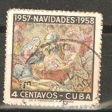 Sellos: LOTE Q-SELLOS SELLO CUBA BUEN VALOR. Lote 110111676