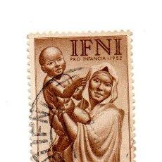 Sellos: IFNI-1952-EDIFIL 79.3-USADOS. Lote 49772929
