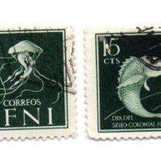 Sellos: IFNI-1953-EDIFIL 95-USADOS. Lote 49774146