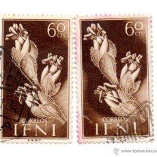 Sellos: IFNI-1954-EDIFIL 108.2-USADOS. Lote 49781503