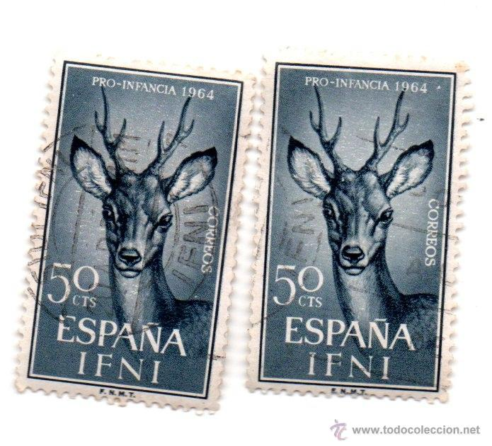 IFNI -1964-EDIFIL 204.2-USADOS (Sellos - España - Colonias Españolas y Dependencias - África - Ifni)