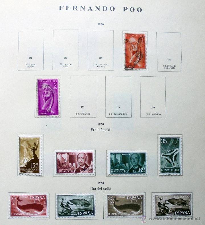 FERNANDO POO,ESPAÑA.LOTE DE SELLOS NUEVOS 1960/66 (Sellos - España - Colonias Españolas y Dependencias - África - Fernando Poo)