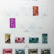 Sellos: FERNANDO POO,ESPAÑA.LOTE DE SELLOS NUEVOS 1960/66. Lote 49895542